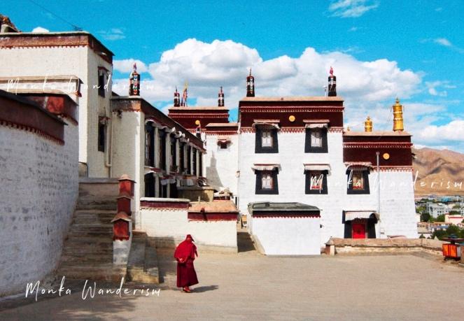 西藏 日喀則市 扎什侖布寺 2019